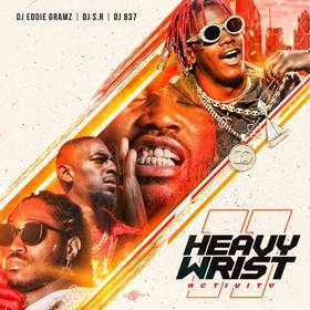 Heavy Wrist Activity 11 DJ S.R. front cover