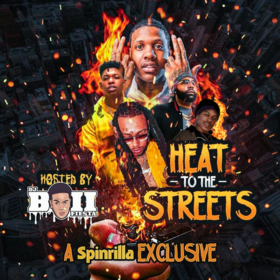 Heat To The Streets DJ Fiestaboii front cover