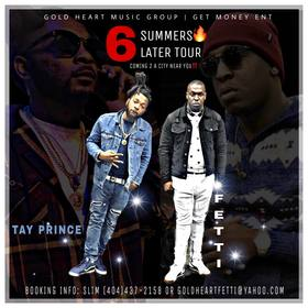Goldheart Fetti x Tay Prince-6 Summers Later Fetti front cover