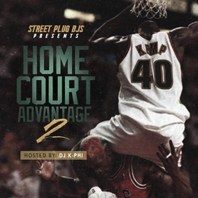 Home Court Advantage vol 2 Streetplug DJs front cover