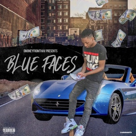 Blue Faces Lul DMoney front cover