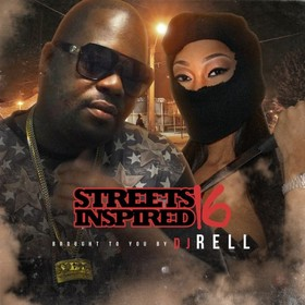 Streets Inspired 16 DJ Rell front cover