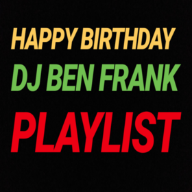 Happy Birthday Playlist DJ Ben Frank front cover