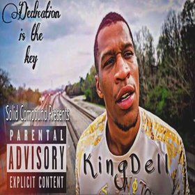 Dedication Is The Key KingDell front cover