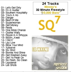 SQ7 Lil Wayne front cover