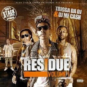 Residue DJ MF Cash front cover