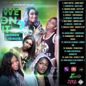 We On It (Women Tribute) 2 DJ 271 front cover