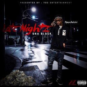 Late Nightz Ona Block MykeeDaKidd front cover