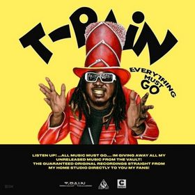 Everything Must Go Vol 1 T-Pain front cover