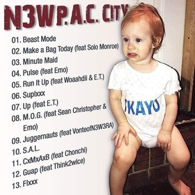 N3W P.A.C. CITY TKAYO front cover