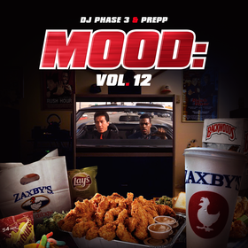 Mood: Vol. 12 (Rush Hour) DJ Phase 3 front cover