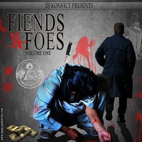 Fiends n Foes Vol 1 Various Artists front cover