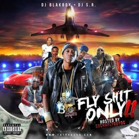 Fly Shit Only DJ S.R. front cover
