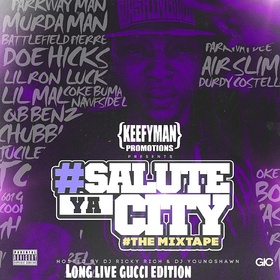 #SaluteYaCity DJ Young Shawn front cover