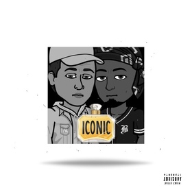 ICONIC M.A.L.C. & Clutchyy. Wave front cover
