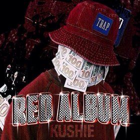 RED ALBUM Kushie Karl Malone front cover