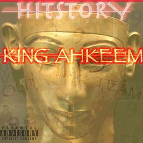 KING AHKEEM-HITSTORY DJ Jeff Duran front cover