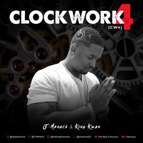 Clock Work 4 DJ Louie V front cover