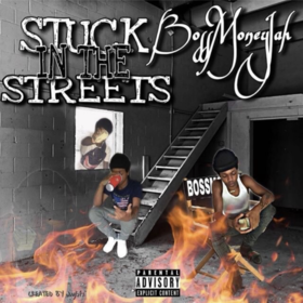 Stuck In The Streets LandoBeatz front cover