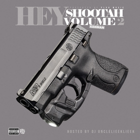 Hey Shootah Vol. 2 xanman front cover