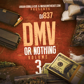 DMV or Nothing 3 DJ 837 front cover