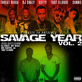 Savage Year Volume 2 Cutty front cover