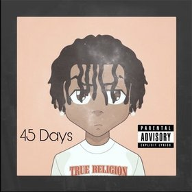 CeeJayBrokeTheBank - 45 Days (The Mixtape) king koopA front cover