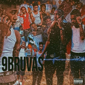 "DJ Key Presents '' 9Bruvas"" ParkStarCoop & StanloG9 front cover"