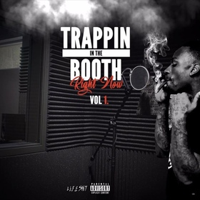 Trappin In The Booth Right Now Vol 1. Slimo Keith front cover