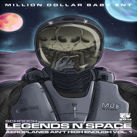Legends N Space (Aeroplanes Aint High Enough Vol. 1) schooch front cover