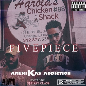 5 Piece Amerikas Addiction front cover