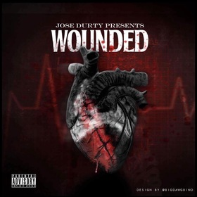 Wounded Jose Durty front cover