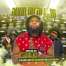 Sour Diesel 10 (Hosted By Shyst Red) DJ P Exclusivez front cover