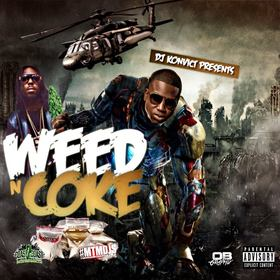 Weed n Coke Pt. 1 Various Artists front cover