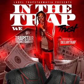 In The Trap We Trust Trouble Bambino front cover