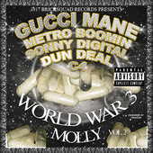 World War 3: Molly Gucci Mane front cover