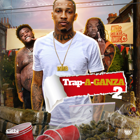Trapaganza 2 Mizz Stacks On Dec front cover