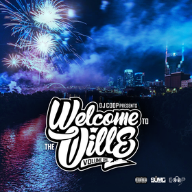 Welcome 2 The Ville Vol 1 DJ Coop Hoe front cover