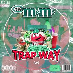 Green M&M's TRAPWAY front cover