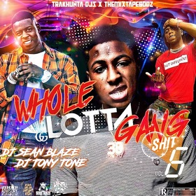 Whole Lotta Gang Shit 6 DJ Seanblaze front cover