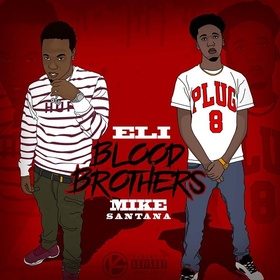 Blood Brothers Eli & Mike Santana front cover