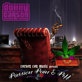 Passion, Pain and Piff Donny Carson front cover