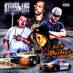Street Life Hosted By Dj Big Deezil DJ Infamous front cover