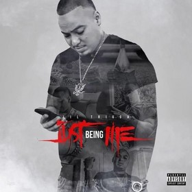 "Lil Trigga ""Just Being Me"" Tony Davis The DJ front cover"