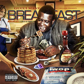 Breakfast Gucci Mane front cover