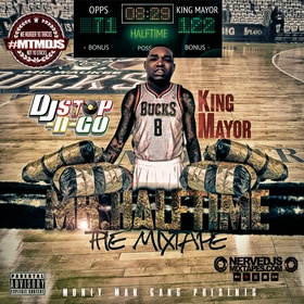 Mr.Halftime The Mixtape King Mayor front cover