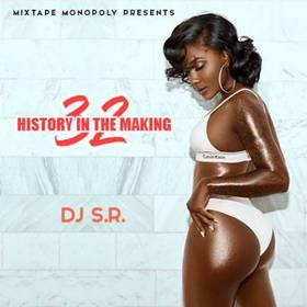 History In The Making 32 DJ S.R. front cover