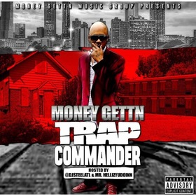 TRAP COMMANDER DJ Steel ATL front cover