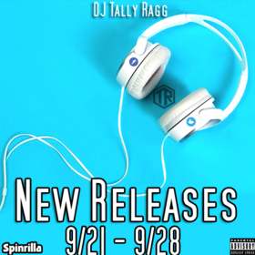 New Releases 9/21 - 9/28 DJ Tally Ragg front cover