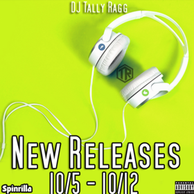 New Releases 10/5 - 10/12 DJ Tally Ragg front cover